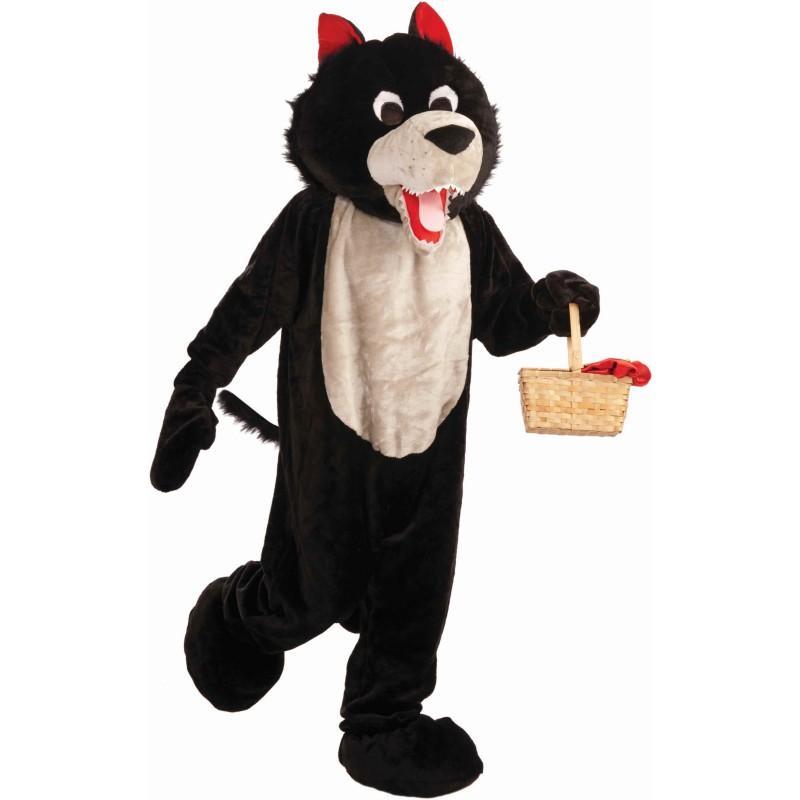 オオカミ 着ぐるみ マスコット 動物 大人用 コスプレ コスチューム 赤ずきん おおかみ
