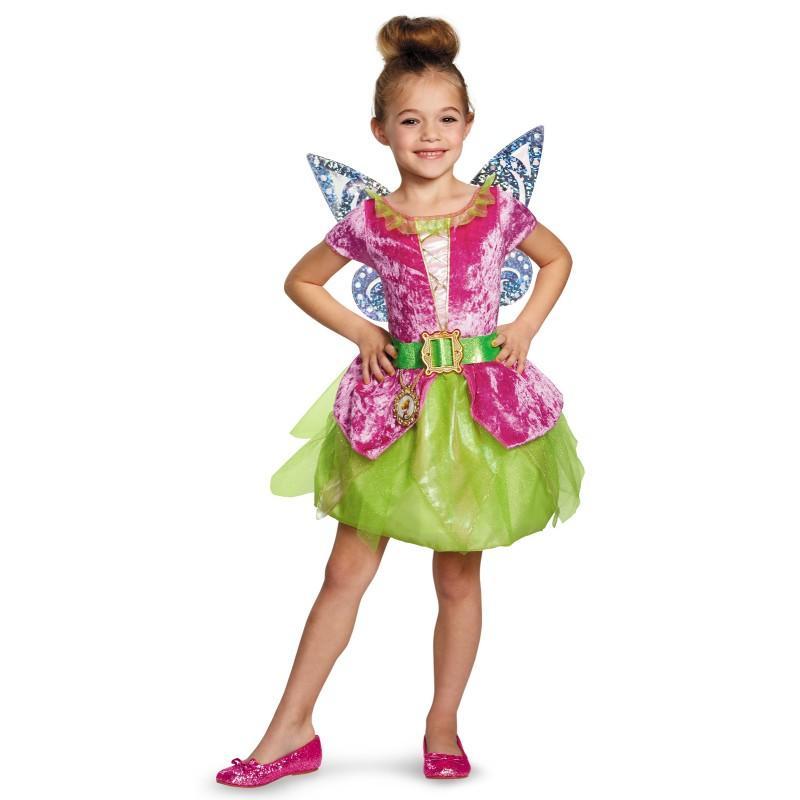 ティンカーベル ディズニー 仮装 子供 コスチューム 人気 コスチューム 衣装 ピーターパン 妖精 ドレス ハロウィン コスプレ コスチューム