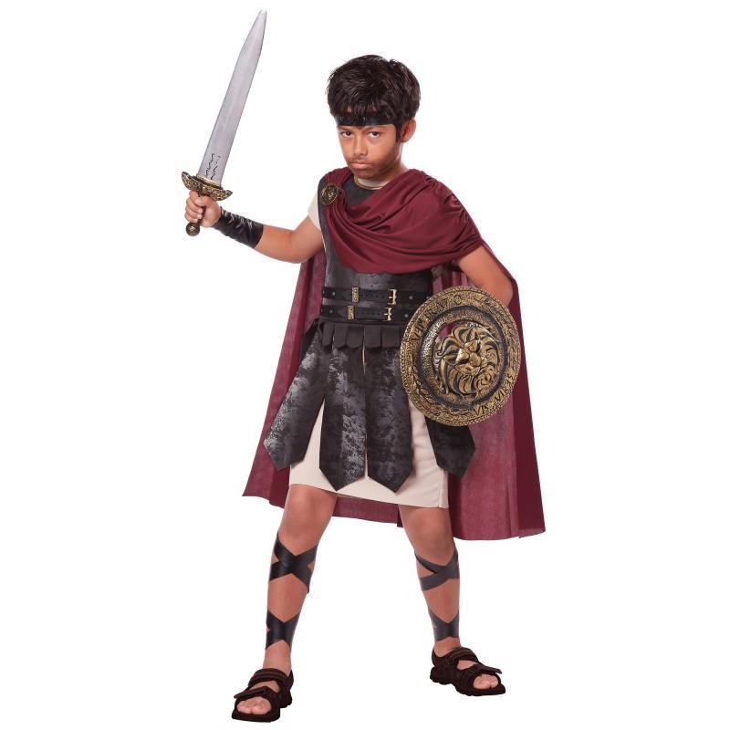 スパルタン 戦士 子供用 コスチーム 古代ローマ 古代ギリシャ ハロウィン コスプレ コスチューム・衣装