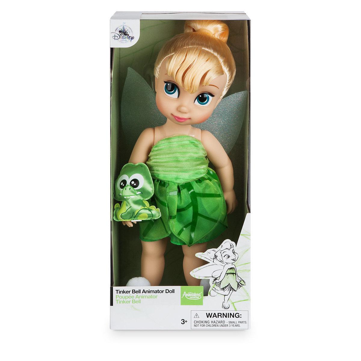 ティンカーベル グッズ アニメーター コレクションドール人形 ディズニー 16インチ ティンカーベル ピーターパン ギフト プレゼント