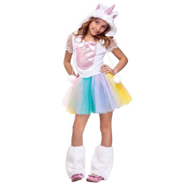 動物 ユニコーン 子供用 コスチューム ハロウィン コスプレ コスチューム・衣装
