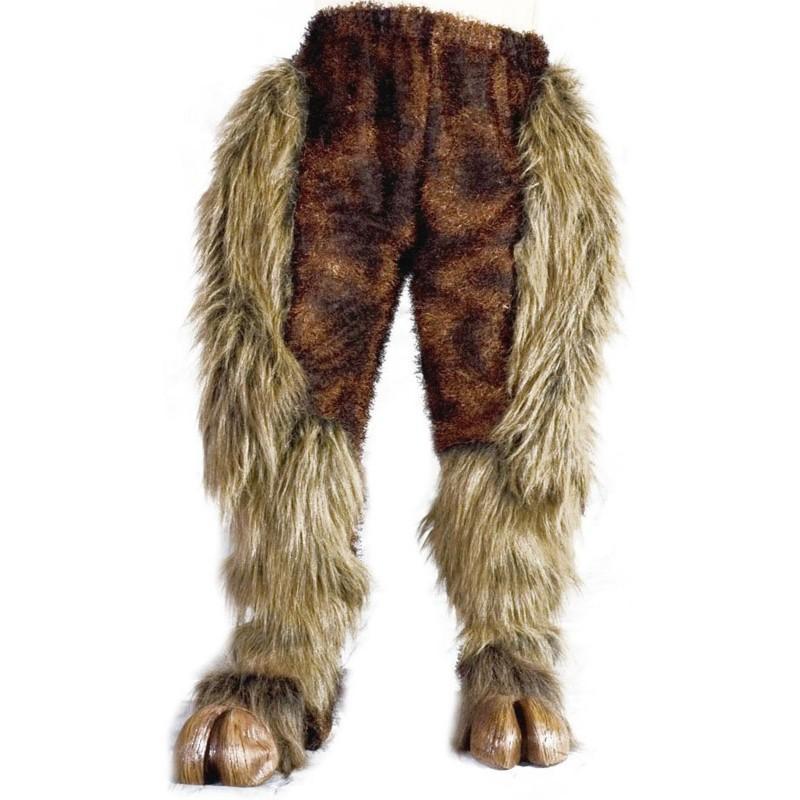 狼男 野獣の足 パンツ 大人用 ハロウィン コスプレ コスチューム・衣装