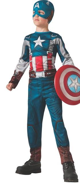 キャプテン アメリカ 子供用 コスチューム パーティー コスプレ 仮装ハロウィン ギフト プレゼント