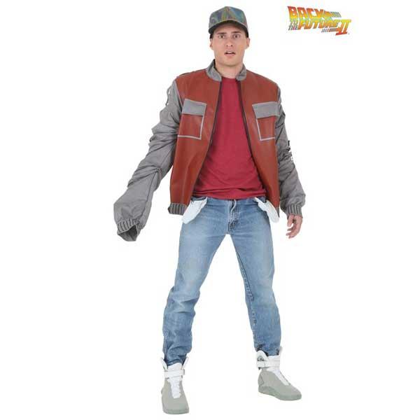 バックトゥザフューチャー キャップ マーティ ジャケット 大人 男性用 衣装 コスプレ コスチューム 大きいサイズ バック・トゥ・ザ・フュ