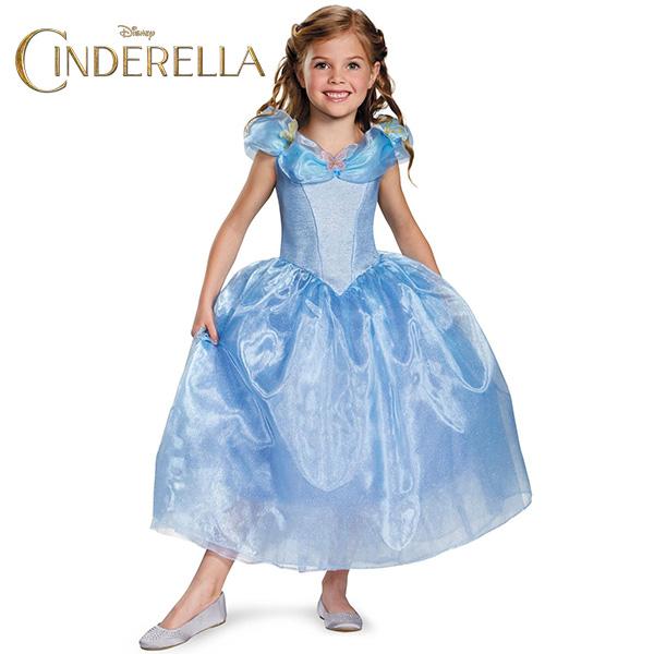 シンデレラ コスプレ ドレス 子供 子ども用 衣装 公式ライセンス商品