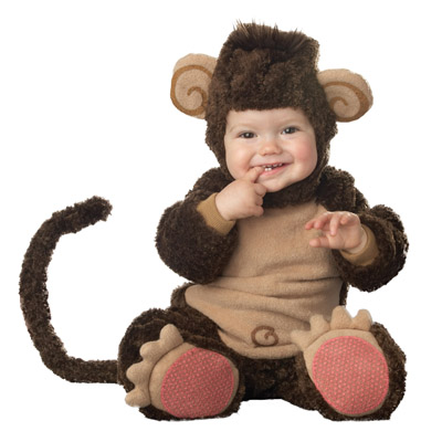 サル コスチューム 動物 ベビー 服 着ぐるみ 赤ちゃん 猿 さる コスプレ 仮装 衣装 2016年 干支