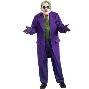 ジョーカー コスプレ バットマン ダークナイト コスチューム 仮装 衣装 大人 男性 コート付 デラックス版 コスチュームセット