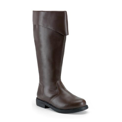 ブーツ メンズ ハロウィン 雑貨 グッズ プリーザー社製 キャプテン風男性用ブーツ ブラウン ハロウィン 雑貨 グッズ