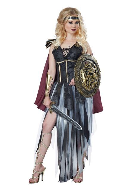 戦士 ローマ 剣闘士 レディース コスチューム 大人 コスプレ 衣装