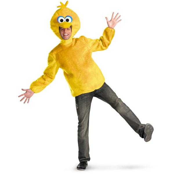 セサミストリート グッズ 大人 コスチューム コスプレ ビッグバード 着ぐるみ 衣装 服 男性 海外 テレビ