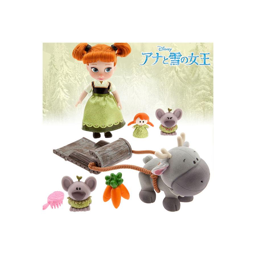 ディズニー アニメーターコレクション アナと雪の女王 アナ ミニドールプレイセット 人形 フィギアおもちゃ コレクターズアイテム