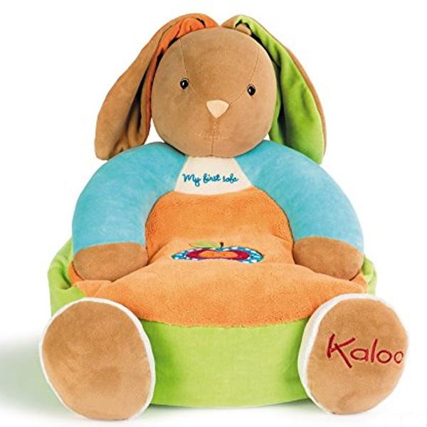 Kaloo(カルー) 癒し ぬいぐるみ うさぎソファ 赤ちゃん用ソファベッド ベビー用品 おもちゃ 知育玩具 出産祝い ギフト プレゼント 【通常便なら送料無料】