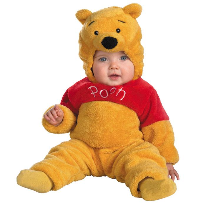 プーさん ベビー コスチューム ディズニー コスチューム ベビー 赤ちゃん ディズニー コスチューム くまのプーさん 着ぐるみ コスプレ 衣装