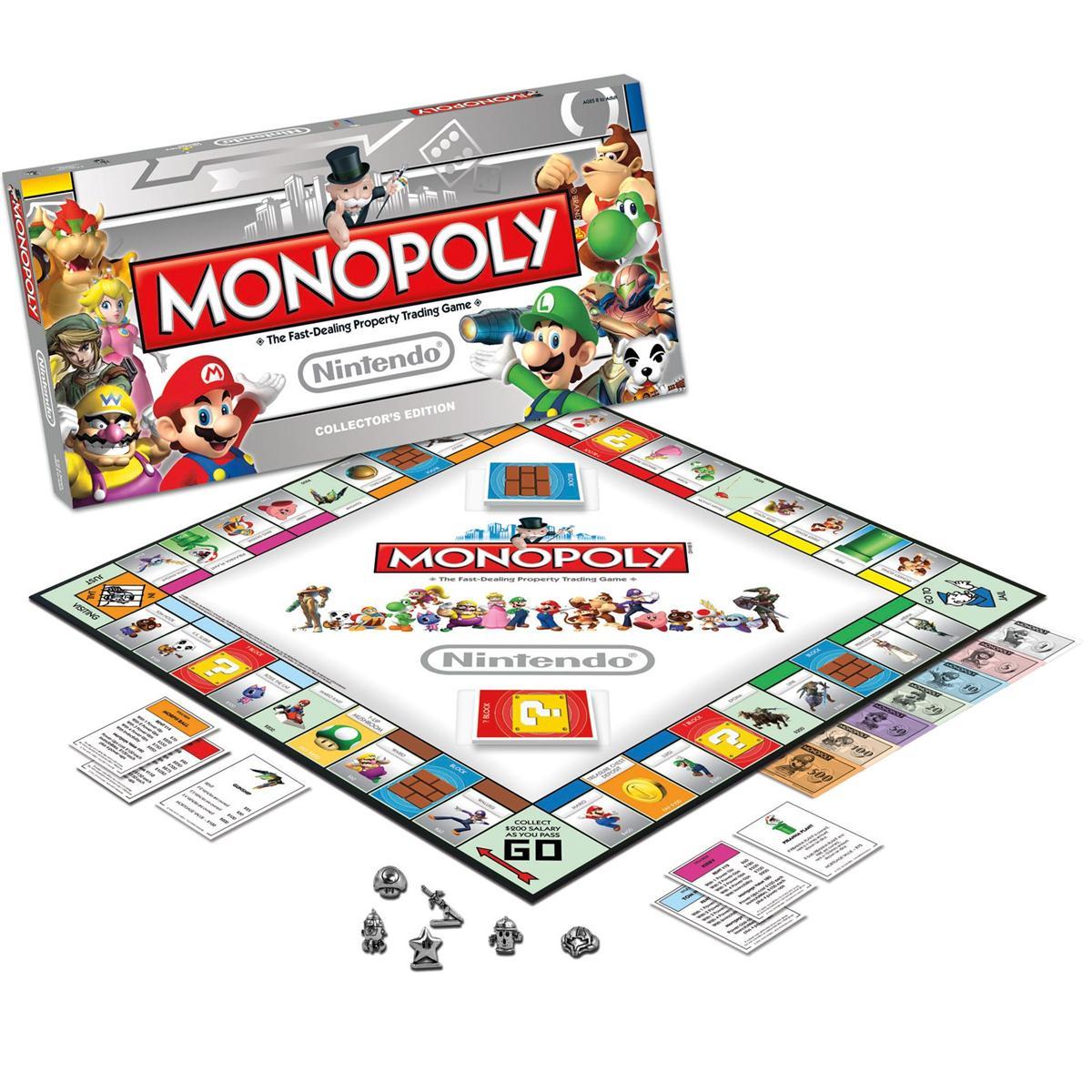 モノポリー MONOPOLY ボードゲーム 任天堂 海外版 おもちゃ