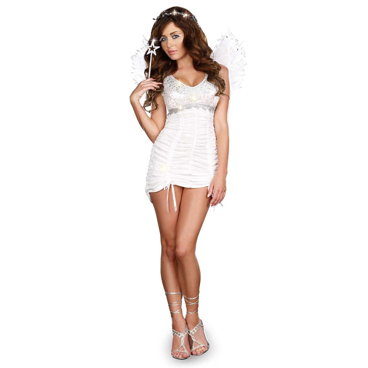 Halloween costumes adult cosplay costume Angel Angel fallen angel mini skirt white Angel adult costume  sc 1 st  Rakuten & acomes | Rakuten Global Market: Halloween costumes adult cosplay ...