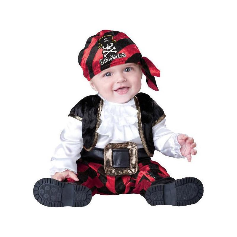 ベビー服 着ぐるみ コスプレ 赤ちゃん パイレーツ・海賊の船長ベビー用 幼児用 コスチューム スウィート・ベイビー・コレクション