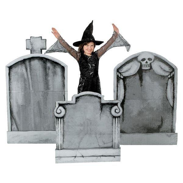お墓 墓石 スタンダップ パネル おばけ 雑貨 置物 インテリア 墓地 RIP 飾り
