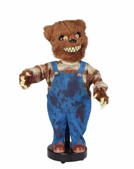 怖い 人形 殺人熊 動物 ホラー インテリア 置物 ハロウィン デコレーション 飾り 装飾