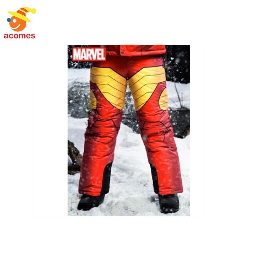 スキーウェア メンズ スノボ スキー ズボン スノーパンツ 大人のアイアンマン 雪 誕生日 ギフト プレゼント アベンジャーズ