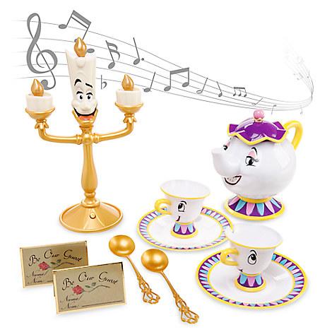 美女と野獣 歌うティーセット ルミエール ミセスポット チップ おもちゃ ままごと ディズニー