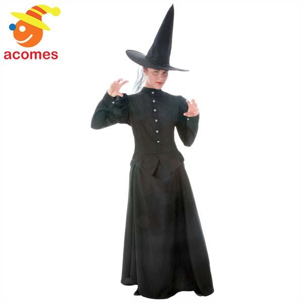 魔女 デラックス 大人用 コスチューム 衣装 ハロウィン イベント パーティー 演劇 舞台