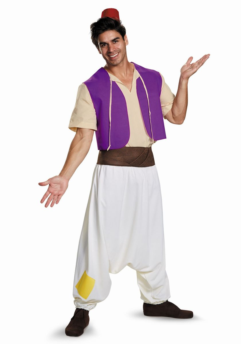 アラジン 衣装 コスチューム ディズニー コスチューム 大人 アラジン コスプレ 衣装 男性用 メンズ 仮装 プリンス 中東 アラビアン 王子様
