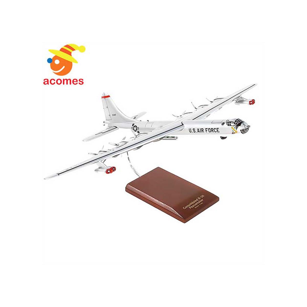 【通常便なら送料無料】ボーイング B-36J ピースメーカー 模型 ボーイング B 36 J ピースメーカー 1/125 スケール マスタークラフト コレクション 模型