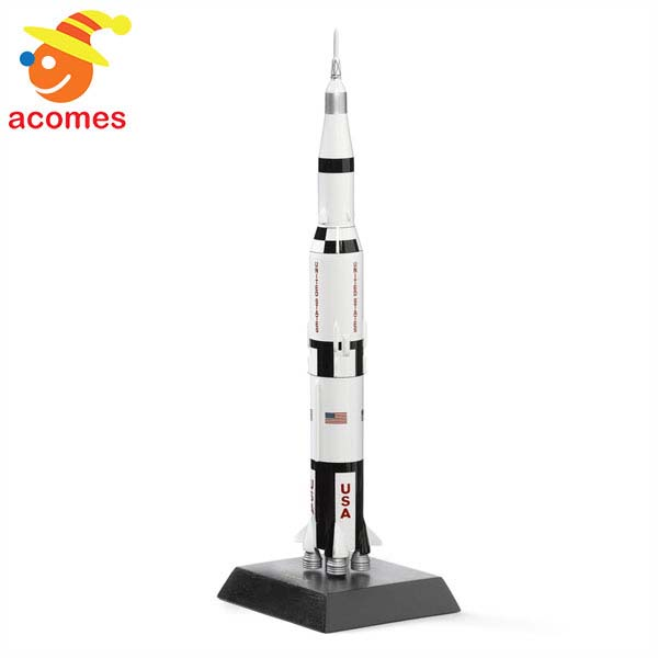 サターン V型 ロケット 1/200 スケール ウッド モデル マスタークラフト コレクション 模型
