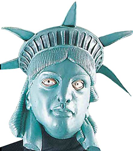 自由の女神 マスク 被り物 大人 女性用 レディース コスチューム コスプレ 衣装 仮装
