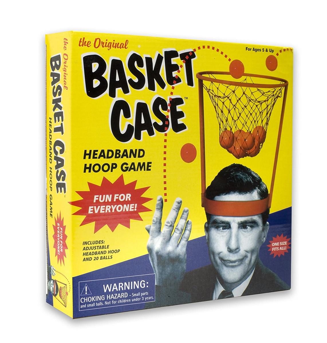 バスケットケース ボール 玉入れ かぶりもの ジョーク おもしろグッズ おもちゃ