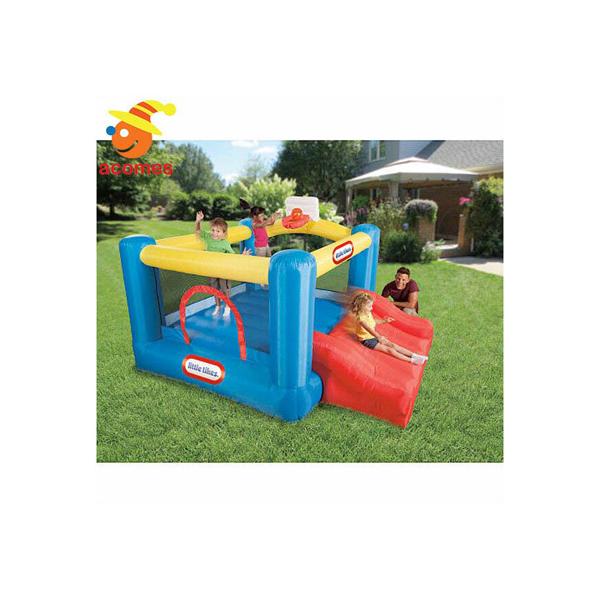 ふわふわ 遊具 膨らませる 大型 野外 遊具 スポーツ スライド バウンサー 子供 幼児 ジャンピング リトル タイクス Little Tikes