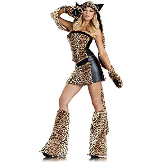 ヒョウ コスプレ 大人 衣装 ハロウィン セクシー 豹 コスチューム レパード レオパルド イベント パーティー 動物