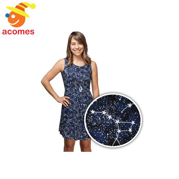 光るドレス 光のドレス 星座 ライトアップ 照明 ワンピース レディース 目立つ 派手 パーティ コスチューム ファッション アパレル