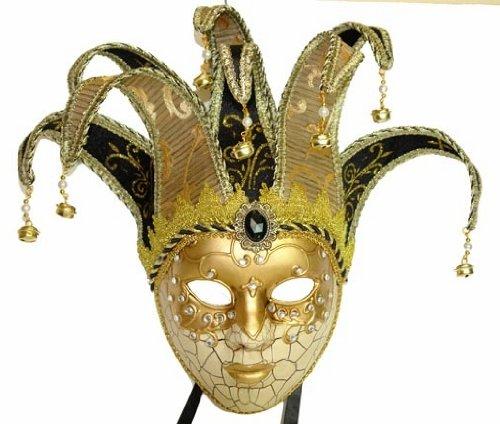ベネチアンマスク 仮面 金 ゴールド 大人 女性 レディース マスカレード 仮面舞踏会 仮装 コスプレ グッズ