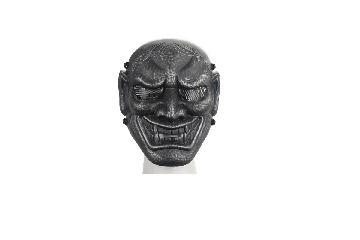 サバゲー フェイスガード フェイスマスク 大人用 般若 鬼 装備 目立つ おもしろい 海外 グッズ