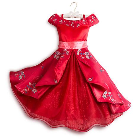 ディズニー コスチューム 子供 アバローのプリンセス エレナ ドレス デラックス版 コスプレ 赤 キャラクター キッズ 仮装 衣装