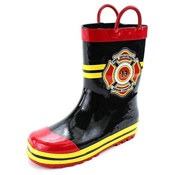 レインブーツ キッズ 消防士 長靴 コスプレ 子供 雨具 梅雨 グッズ