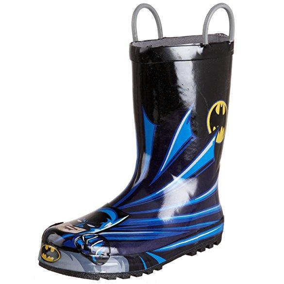 レインブーツ キッズ Western Chief 長靴 バットマン アメコミ ヒーロー キャラクター 子供 雨具 梅雨 グッズ