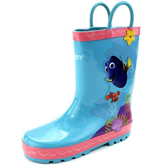 レインブーツ キッズ 長靴 ディズニー ファインディングドリー キャラクター 子供 雨具 梅雨 グッズ