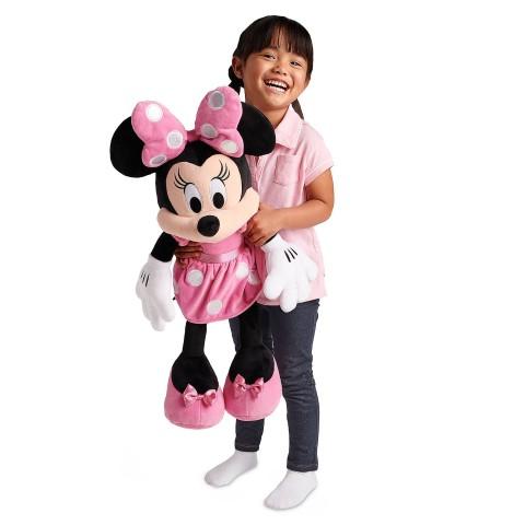ミニーマウス ぬいぐるみ 大きい ラージサイズ 68.5cm ピンク ディズニー キャラクター おもちゃ 人形