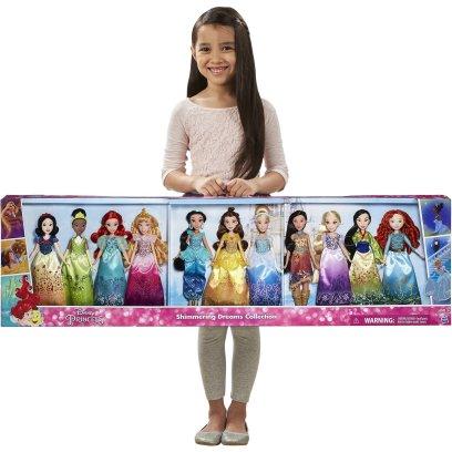 ディズニー プリンセス 人形 豪華 セット お姫様 11 フィギュア ギフト プレゼント 子供 おもちゃ