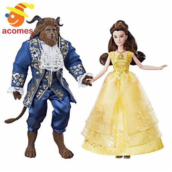 ディズニー 映画 美女と野獣 人形 ベル&野獣 グランド ロマンス プリンセス ドール フィギュア 子供 おもちゃ