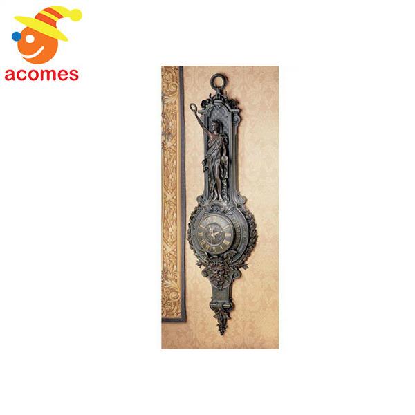インテリア 壁 掛け 時計 ラ リベルテ グランデ 宮殿 彫刻 時計 ウォール クロック