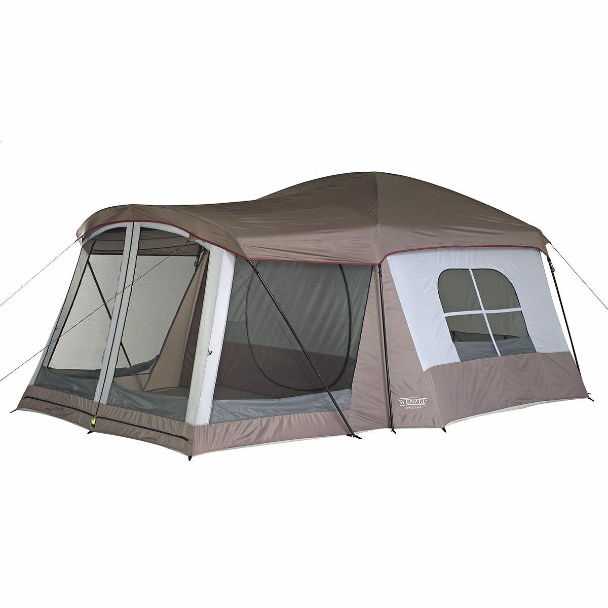 テント キャンプ アウトドア 8人用 Wenzel 防災 非常