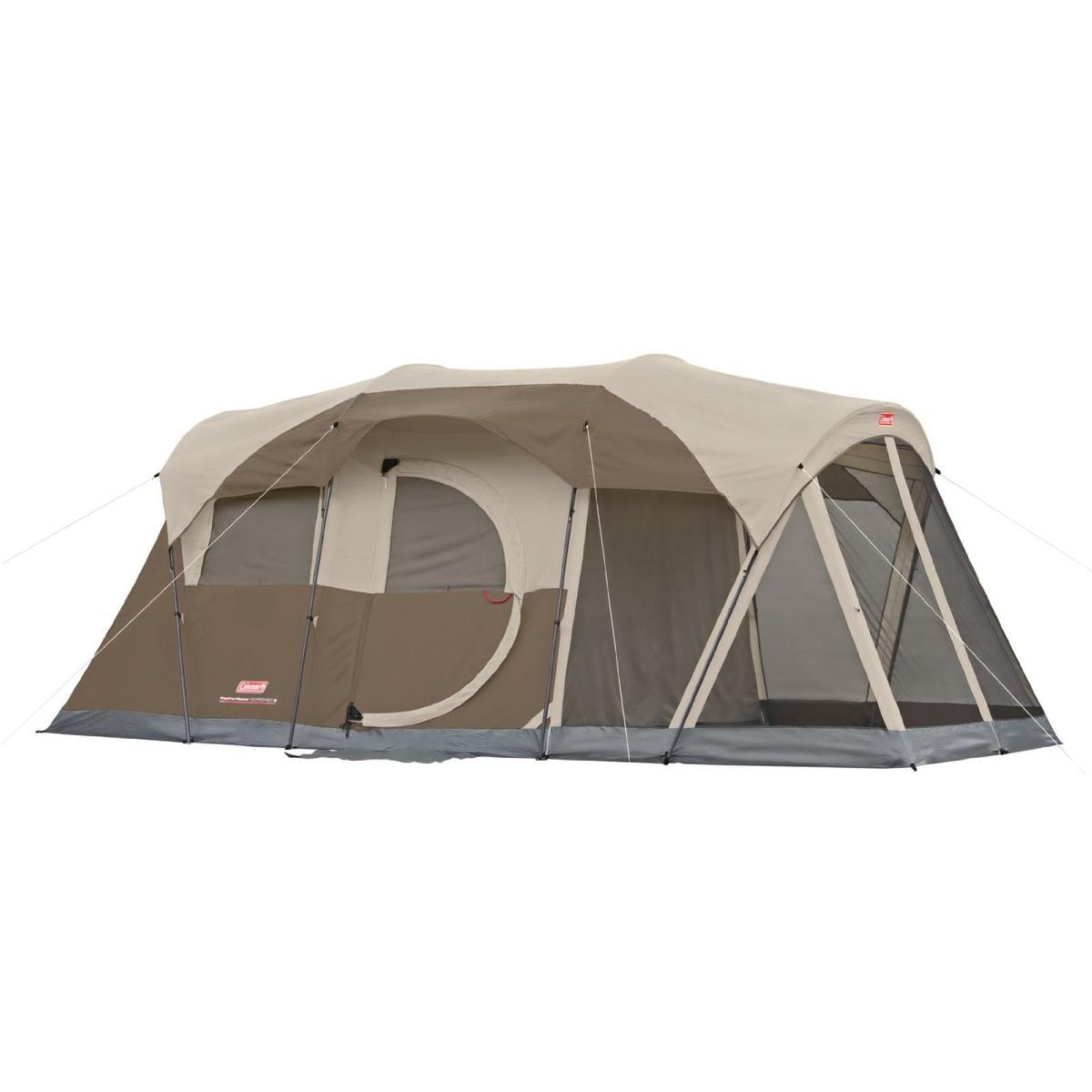 テント キャンプ アウトドア コールマン 6人用 防災 非常