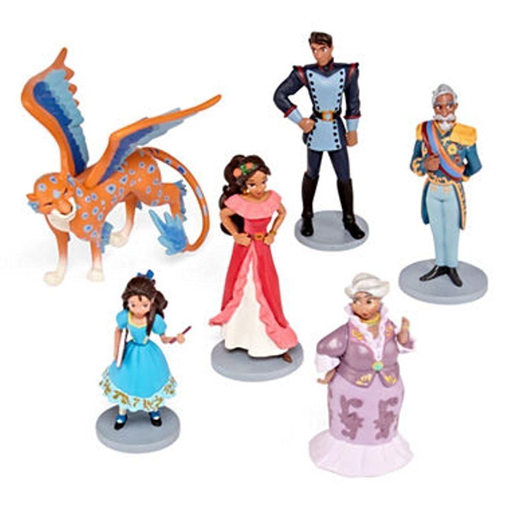 アバローのプリンセス エレナ フィギュア ドール 人形 6点 セット ディズニー おもちゃ 海外