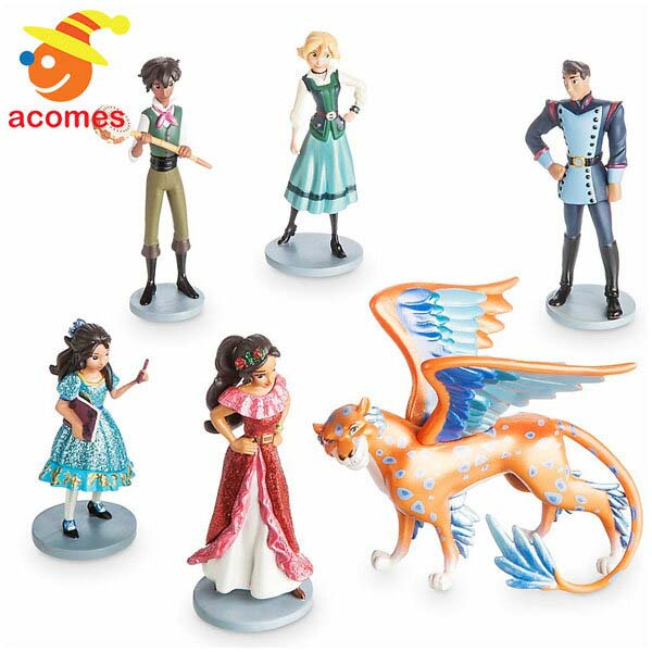 アバローのプリンセス エレナ 人形 セット 6 フィギュア 子供 おもちゃ ドール ディズニー