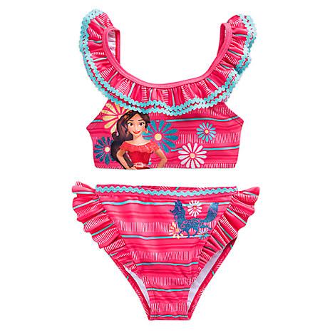 アバローのプリンセス エレナ 水着 ピンク 子供 ガールズ 女の子 ディズニー 海 プール グッズ