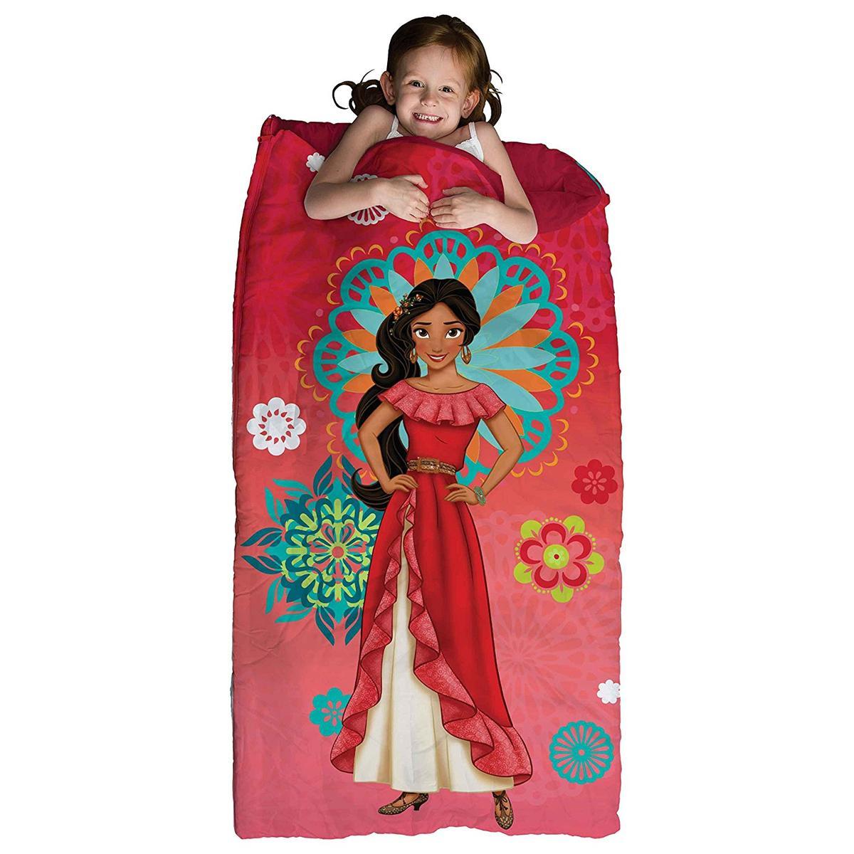 アバローのプリンセス エレナ 寝袋 子供 ガールズ 女の子 ディズニー キャンプ アウトドア 寝具 グッズ