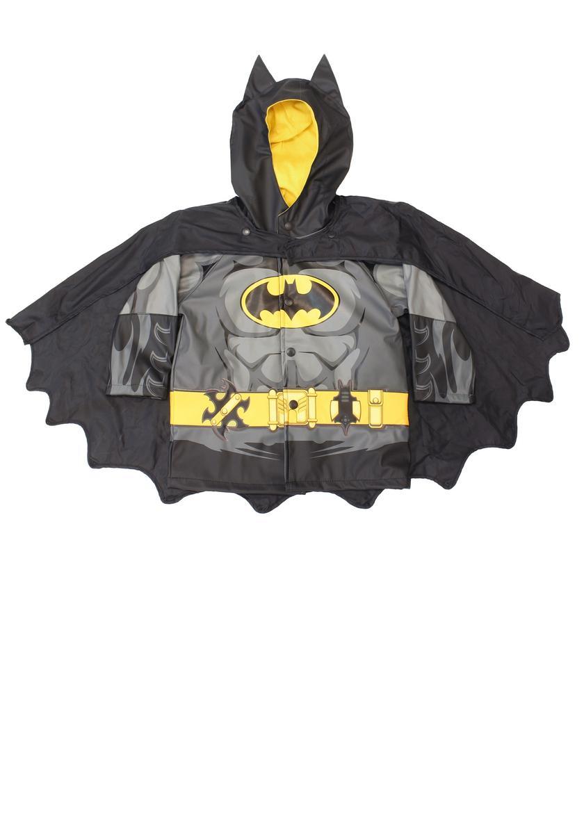 ハロウィン バットマン レインコート 子供 キッズ 雨具 コスプレ 仮装 梅雨 コスチューム グッズ